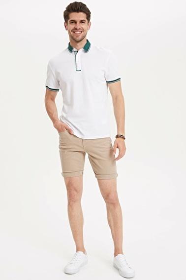 DeFacto Polo T-shirt Beyaz